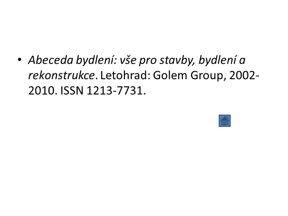 ČADILOVÁ, Kateřina.Dokumentace - Zásady bibliografického pořádání: ČSN ISO 7154: 01 0141.