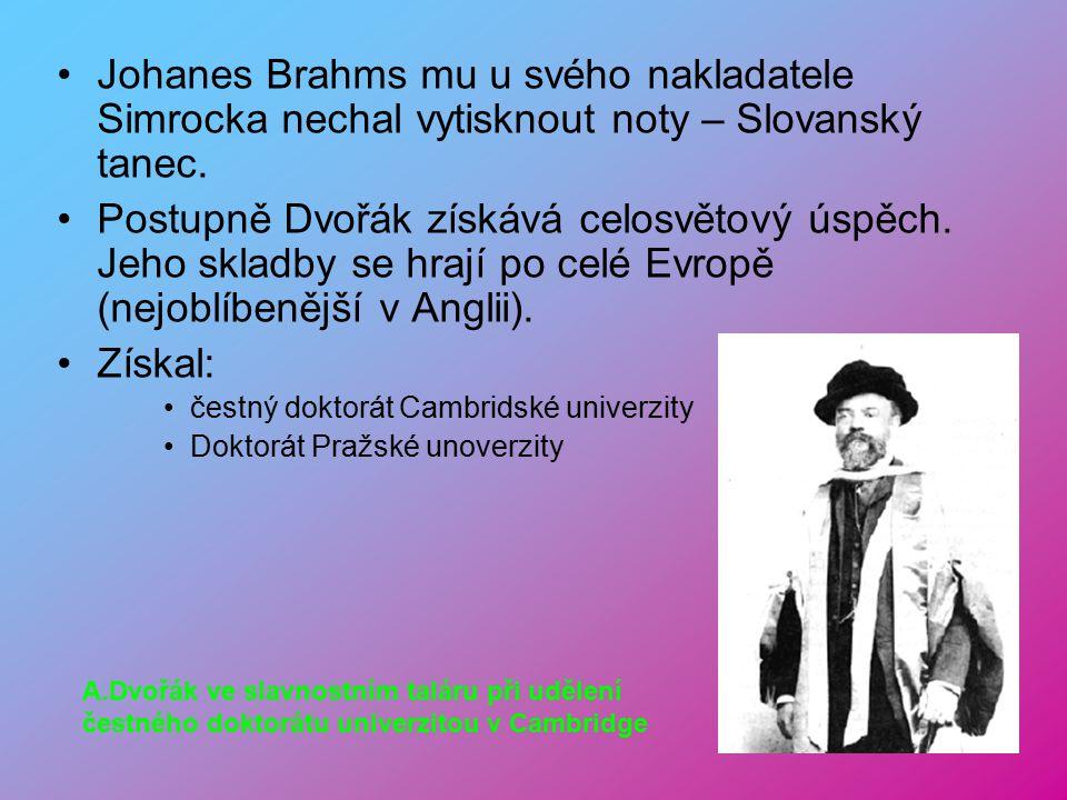 Oženil se s Annou Čermákovou (sestrou jeho první lásky). Zlomem v jeho životě je rakouské státní stipendium, které získal zásluhou svého přítele J. Br