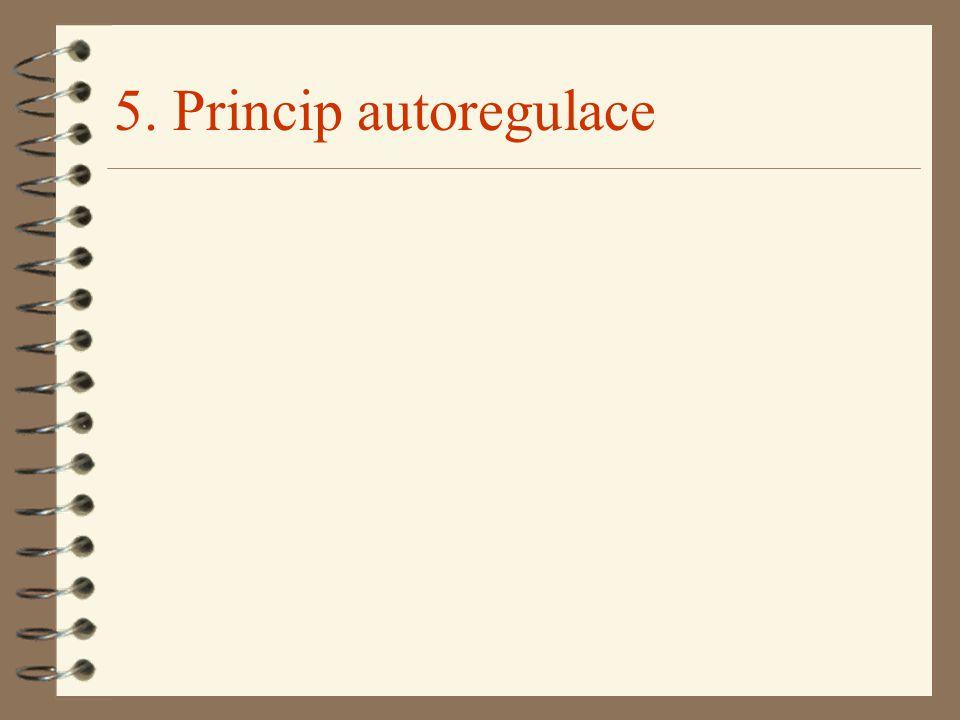 5. Princip autoregulace