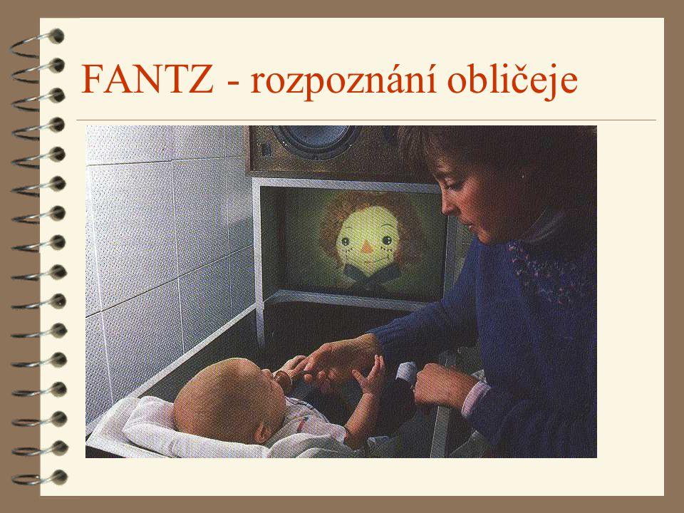 FANTZ - rozpoznání obličeje