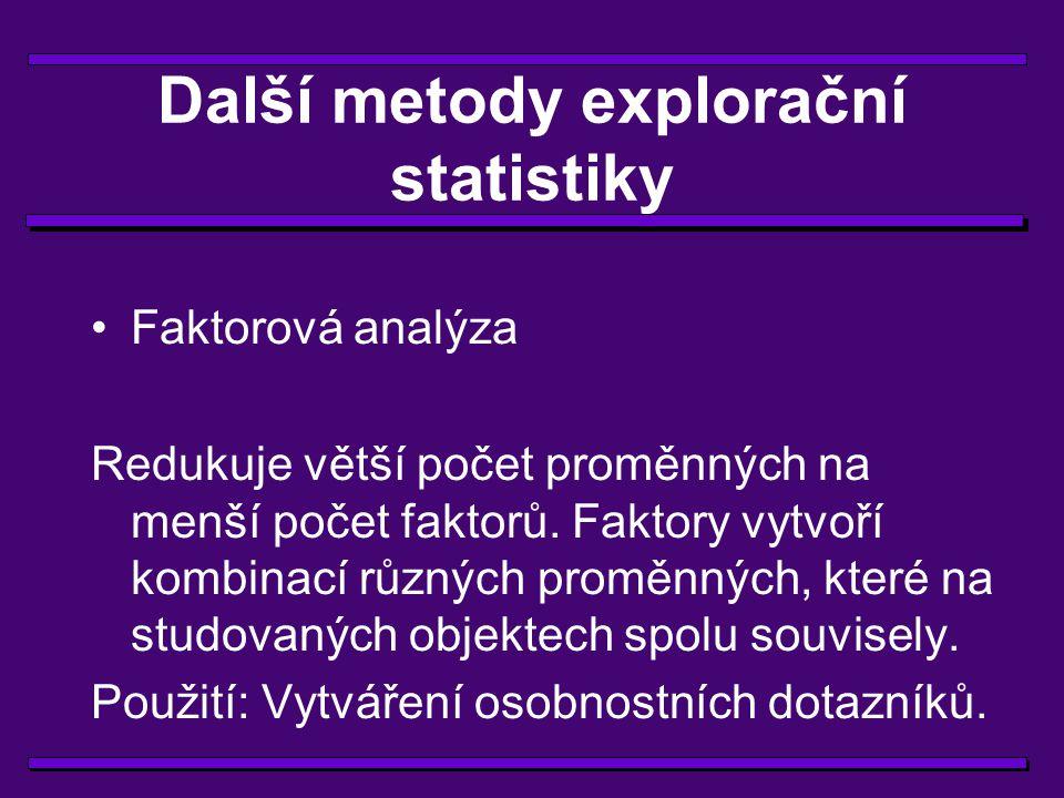 Statistika z ptačí perspektivy Úloha statistiky v experimentálním výzkumu Explorační metody Konfirmační metody Sedm + 1 praktických rad