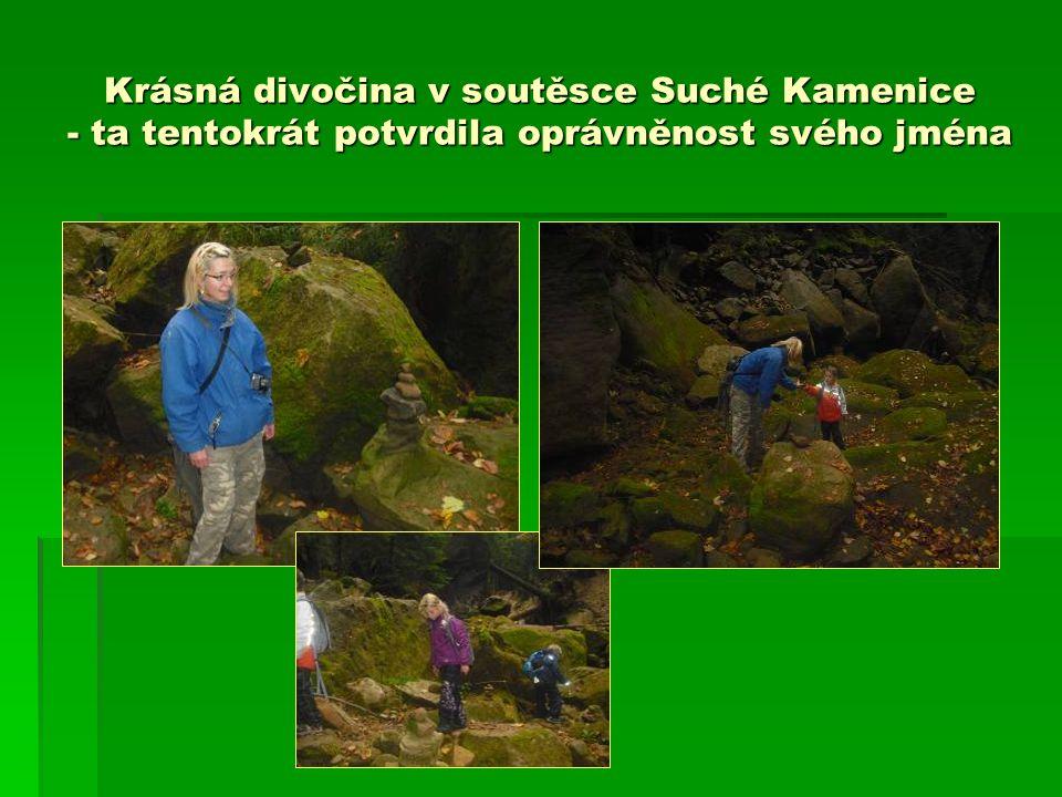 Krásná divočina v soutěsce Suché Kamenice - ta tentokrát potvrdila oprávněnost svého jména