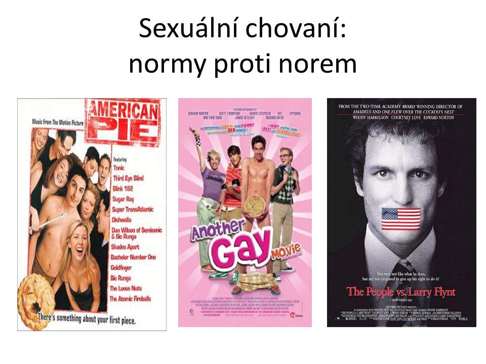 Sexuální chovaní: normy proti norem