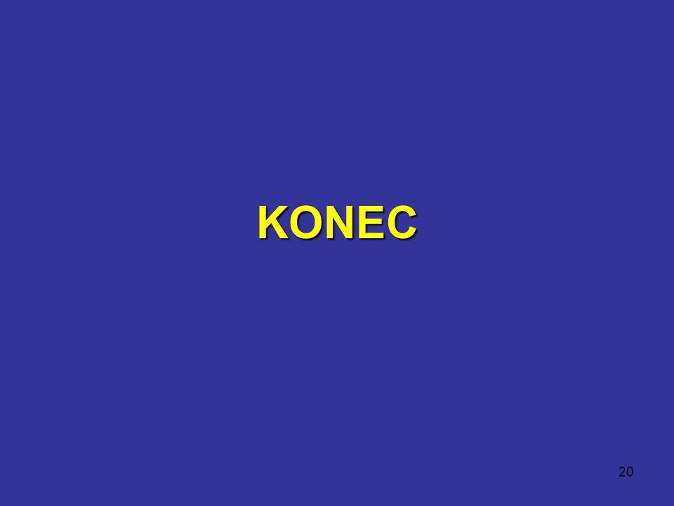 20 KONEC