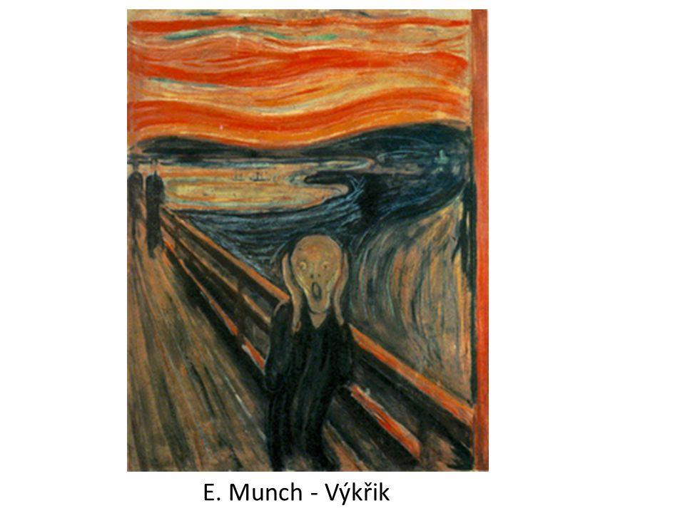 DIE BRÜCKE NĚMECKÁ SKUPINA VZNIK – 1905, DRÁŽĎANY MOST MEZI UMĚNÍM MINULOSTI A AVANTGARDOU ČLENOVÉ: Ernst Ludwig Kirchner (1905–1913) Karl Schmidt-Rottluff (1905–1913) Fritz Bleyl (1905–1907) Erich Heckel (1905–1913) Max Pechstein (1906–1912) Emil Nolde (1906–1907) Otto Mueller (1910–1913) Ernst Ludwig Kirchner Karl Schmidt-Rottluff Fritz Bleyl Erich Heckel Max Pechstein Emil Nolde Otto Mueller