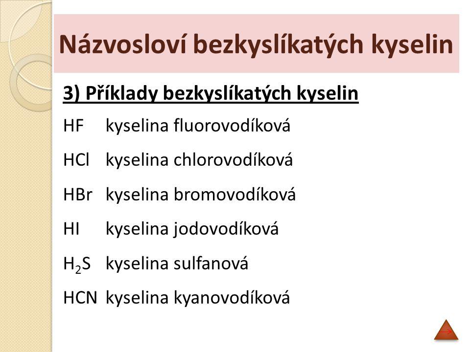 Kyslíkaté kyseliny