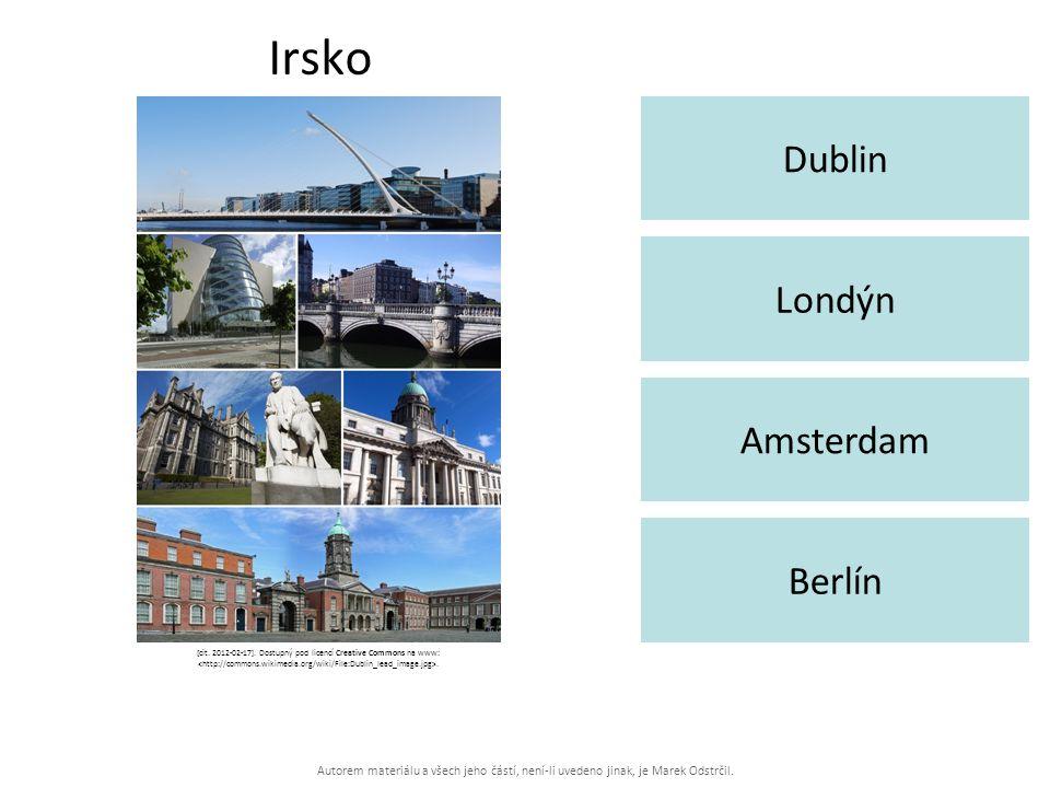 Autorem materiálu a všech jeho částí, není-li uvedeno jinak, je Marek Odstrčil. Irsko Dublin Berlín Londýn Amsterdam [cit. 2012-02-17]. Dostupný pod l