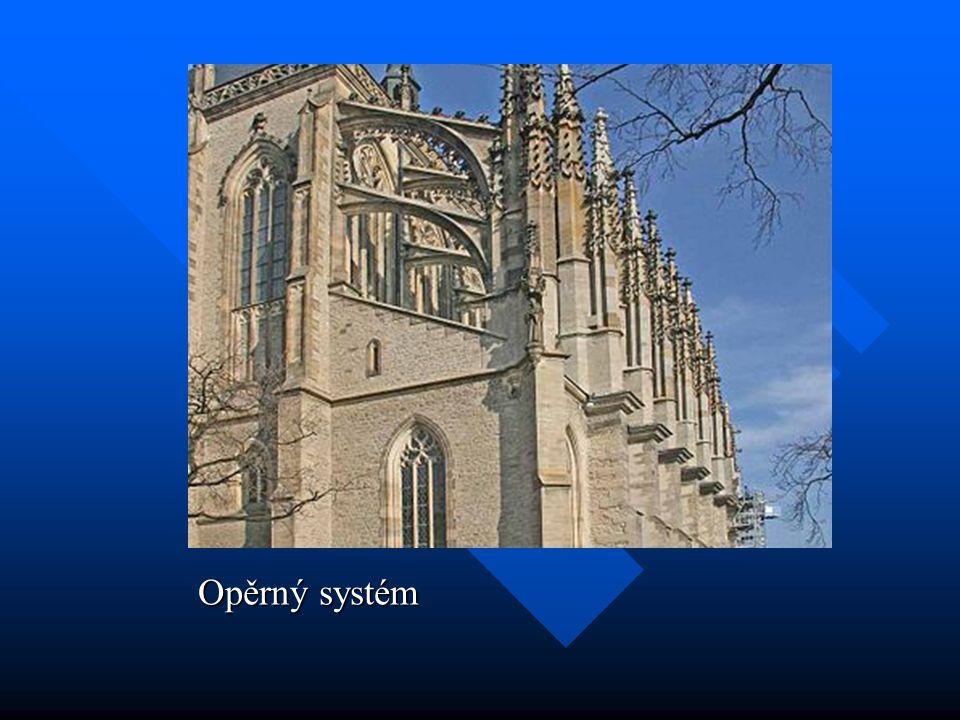 Chrám sv. Víta na Hradě – gotické a novogotické (pseudogotické) části
