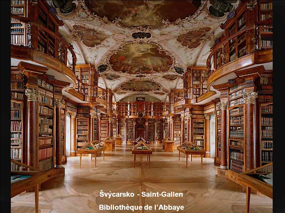 Rakousko Bibliothèque de l'Abbaye de Saint-Florian