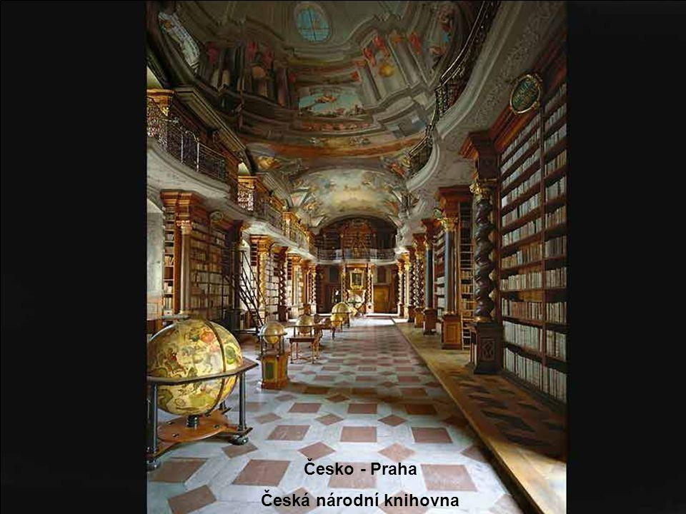 Švýcarsko - Saint-Gallen Bibliothèque de l'Abbaye