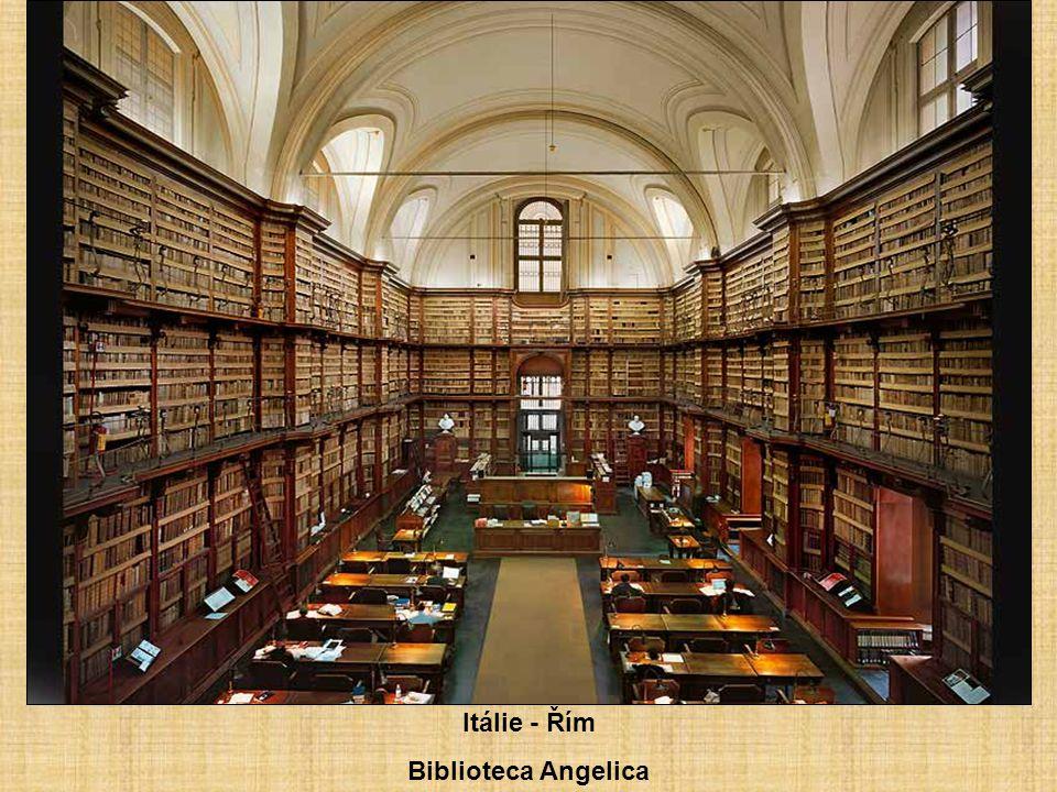 Německo - Wiblingen Bibliothèque du Monastère.