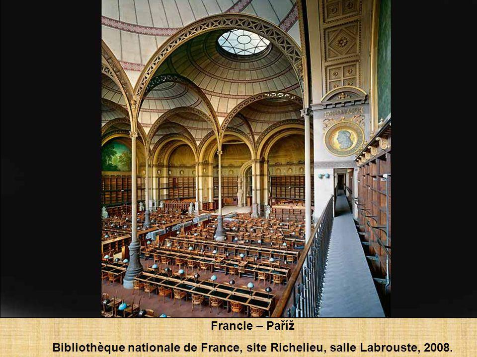 Francie - Paříž Bibliothèque Sainte-Geneviève