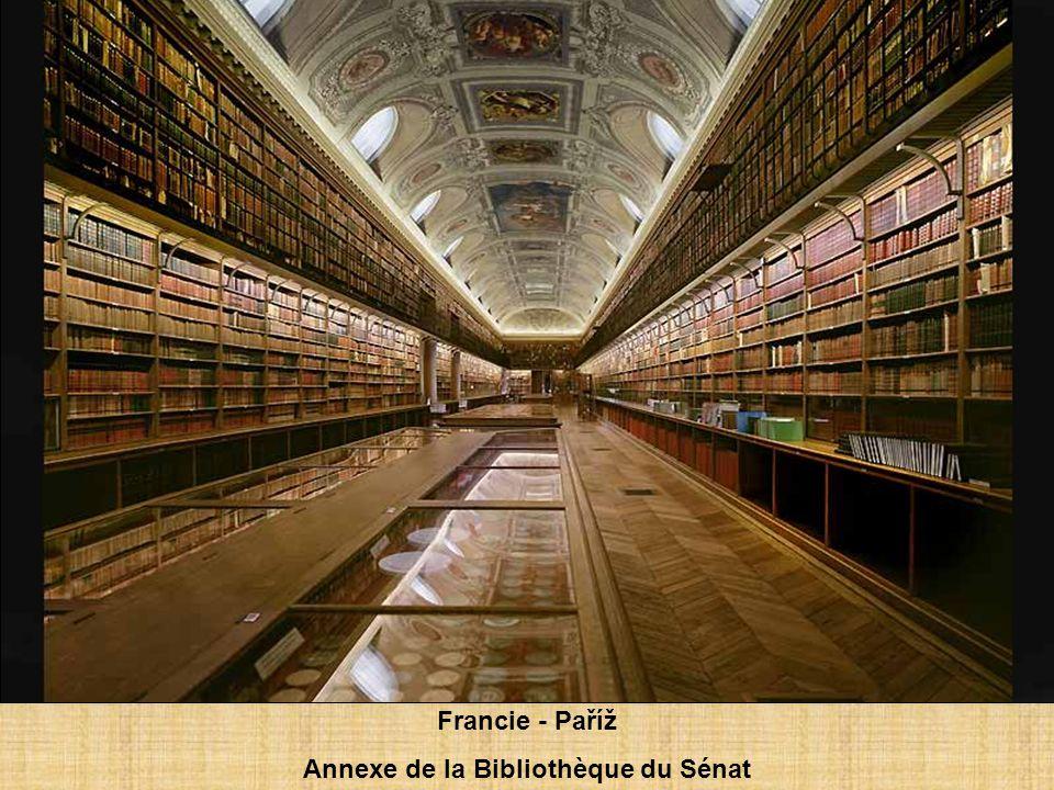 Francie – Paříž Bibliothèque nationale de France, site Richelieu, salle Ovale, 2008.