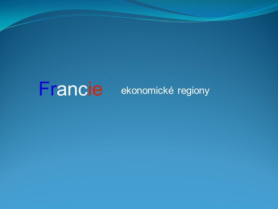 Francie ekonomické regiony