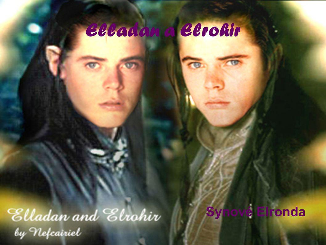 Elladan a Elrohir Synové Elronda