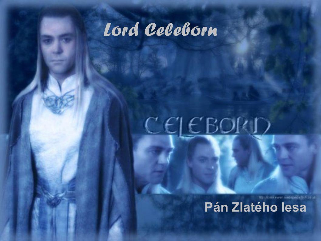 Pán Zlatého lesa Lord Celeborn