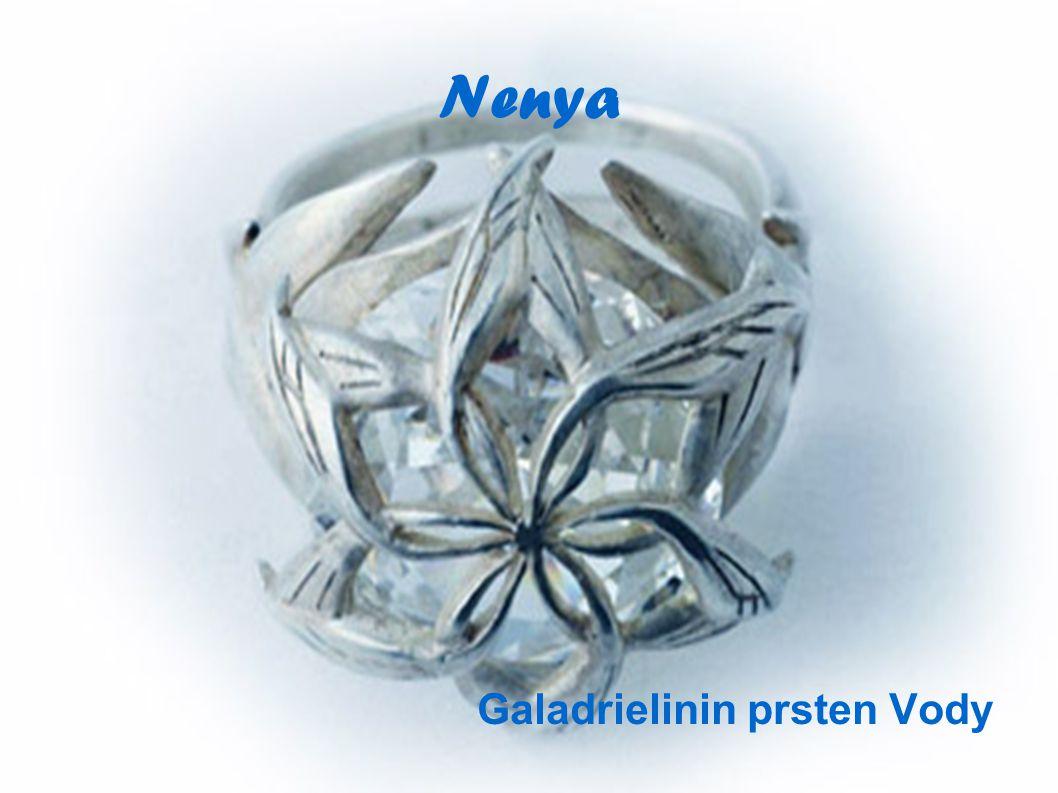 Nenya Galadrielinin prsten Vody