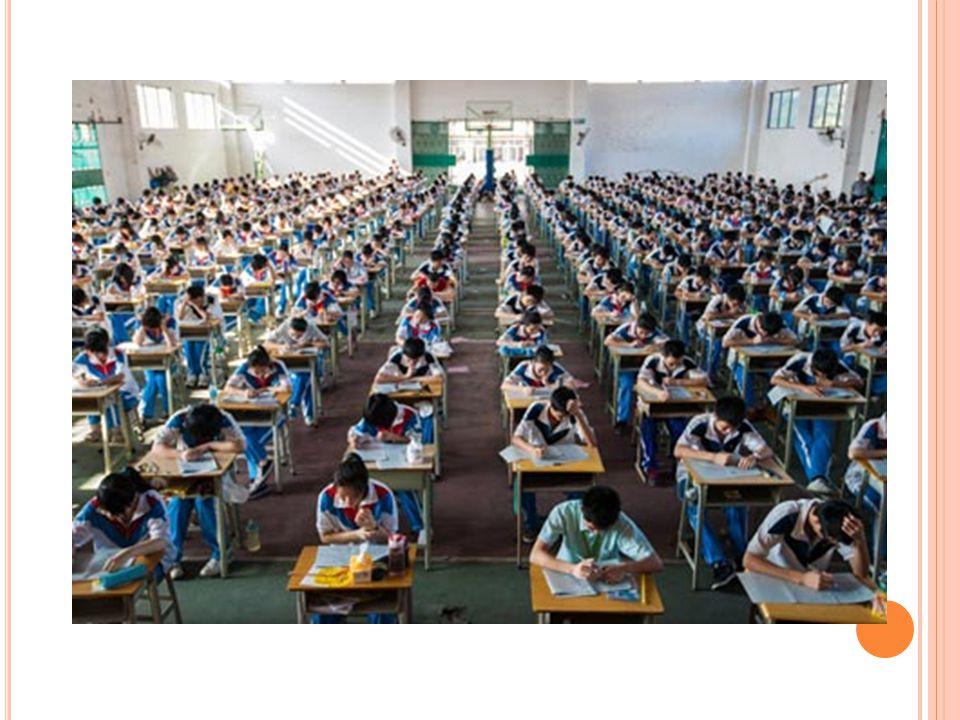 P ŘÍPRAVA OD ZÁKLADNÍ ŠKOLY Tlak Roční školné (cca 56 tisíc korun) Šance na uplatnění = vzdát se dětství Systém výchovy – učení a učení, žádná možnost rozvíjení 30 školních týdnů Devítihodinový školní systém