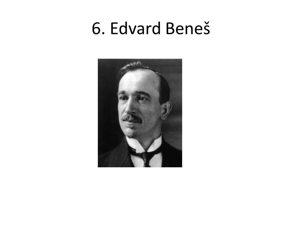 6. Edvard Beneš