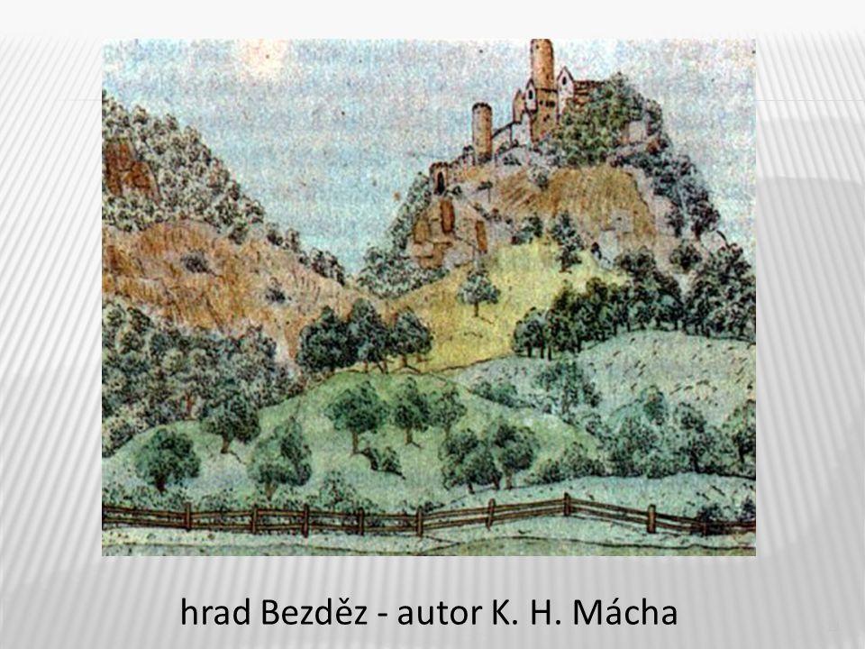11 hrad Bezděz - autor K. H. Mácha