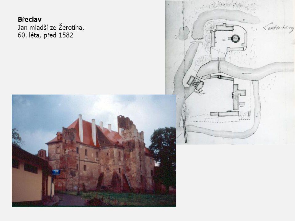 B ř eclav Jan mladší ze Žerotína, 60. léta, p ř ed 1582