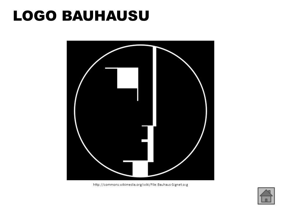 LOGO BAUHAUSU http://commons.wikimedia.org/wiki/File:Bauhaus-Signet.svg