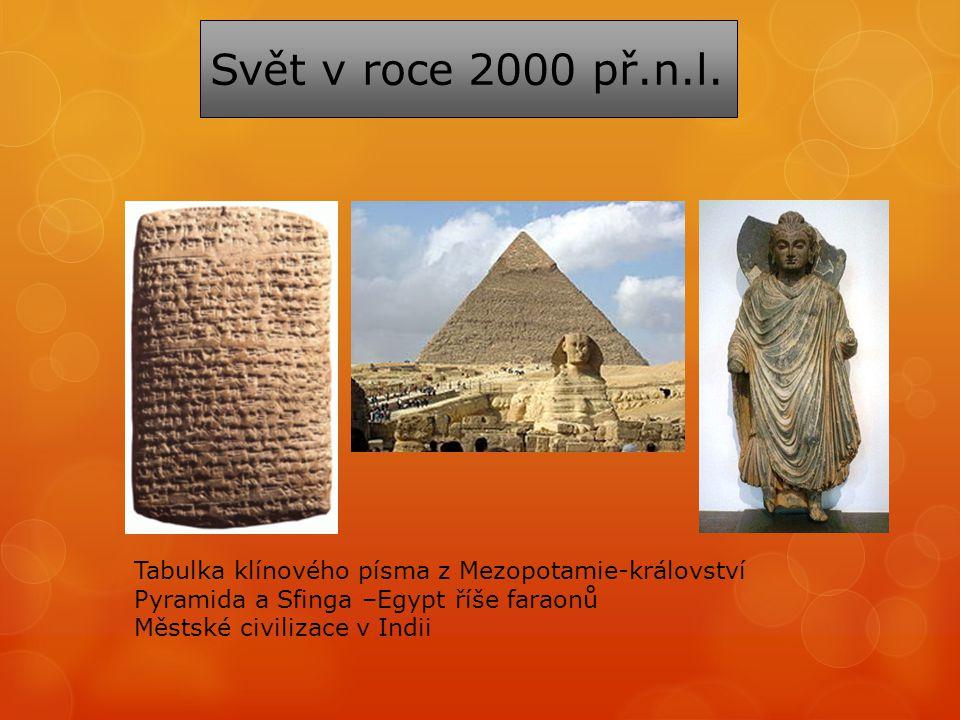 Svět v roce 2000 př.n.l.