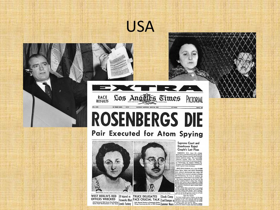 SSSR 1953-1964 – destalinizace po Stalinově smrti boj o moc (Malenkov, Berija, Molotov) – posléze Nikita Chruščov XX.sjezd KSSS 1956 – odsouzen kult osobnosti Stalina, zásada kolektivního vedení země a strany reakce – Maďarská revoluce – krvavě potlačena berlínská krize 1961 karibská krize 1962