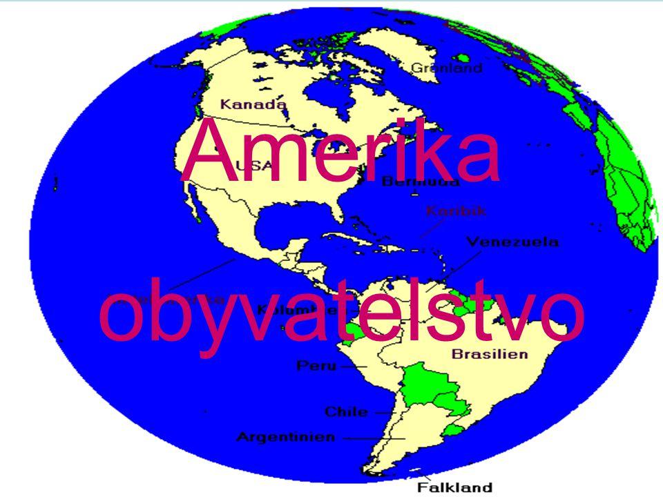 Amerika obyvatelstvo