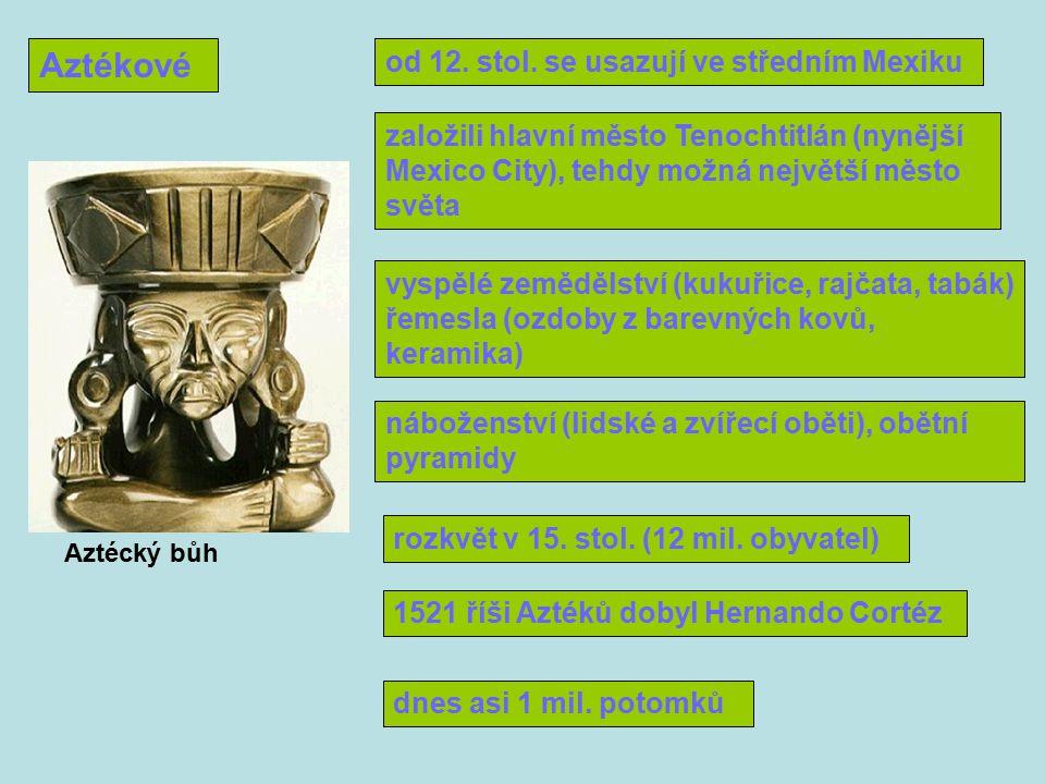Aztékové od 12.stol.