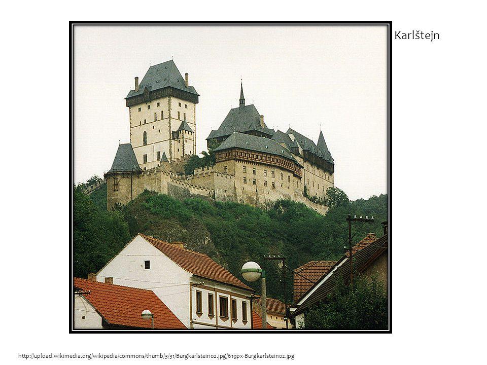 http://upload.wikimedia.org/wikipedia/commons/thumb/3/31/Burgkarlstein02.jpg/619px-Burgkarlstein02.jpg Karlštejn