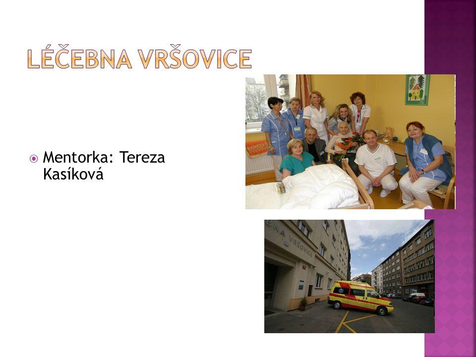  Mentorka: Tereza Kasíková