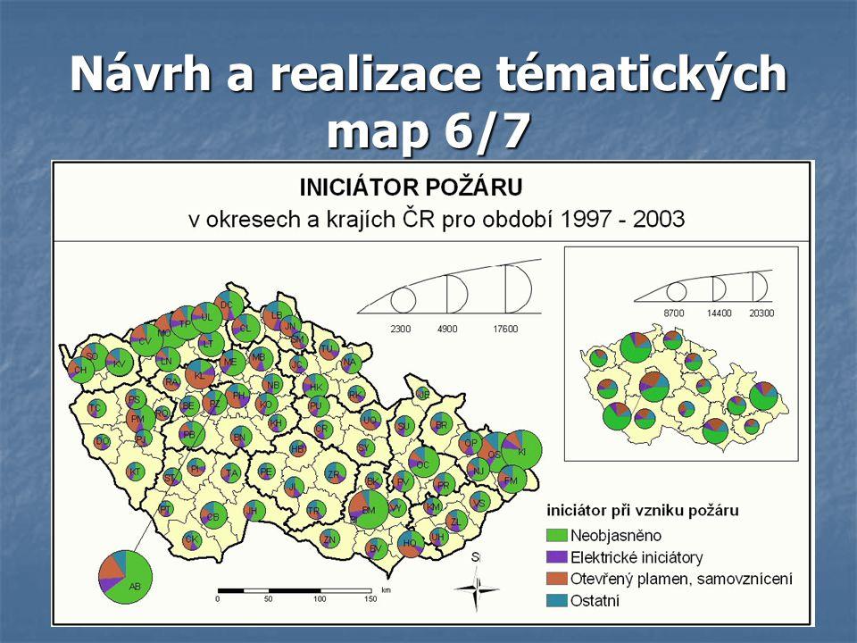 Návrh a realizace tématických map 6/7
