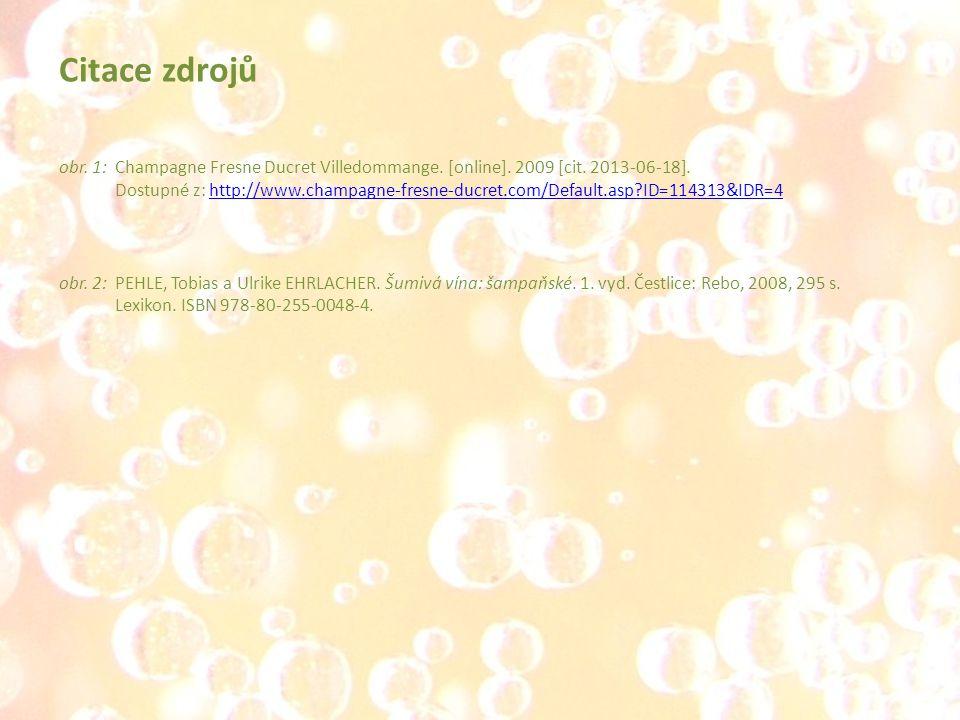 obr. 1:Champagne Fresne Ducret Villedommange. [online]. 2009 [cit. 2013-06-18]. Dostupné z: http://www.champagne-fresne-ducret.com/Default.asp?ID=1143