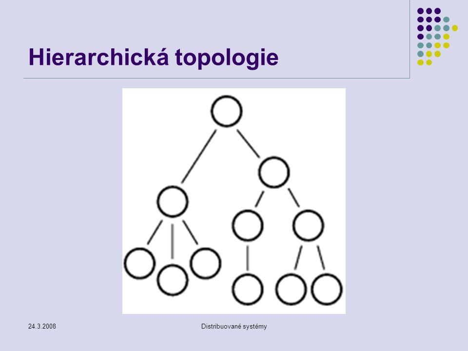24.3.2008Distribuované systémy Hierarchická topologie
