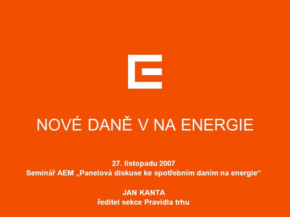 NOVÉ DANĚ V NA ENERGIE 27.