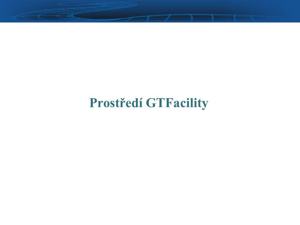 Prostředí GTFacility