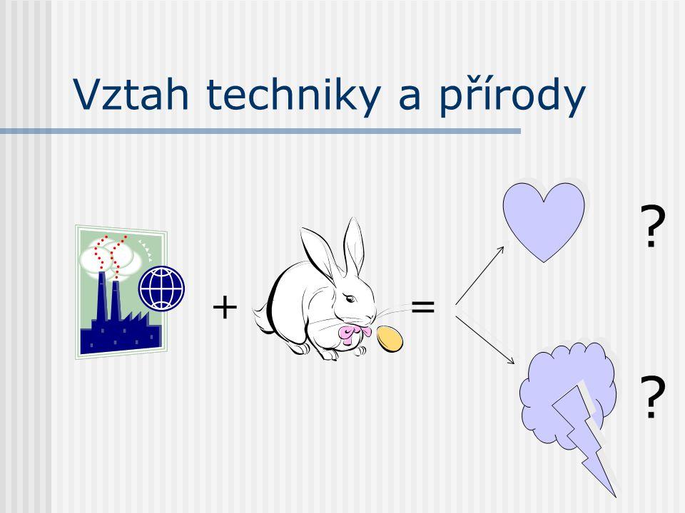Vztah techniky a přírody +=
