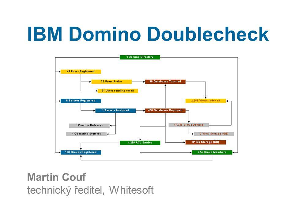 5. Výsledky a interpretace IBM Domino Doublecheck