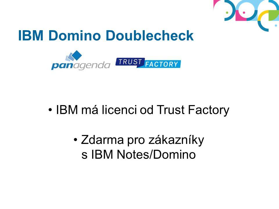 Analýza Notes/Domino prostředí Optimalizace = nižší TCO