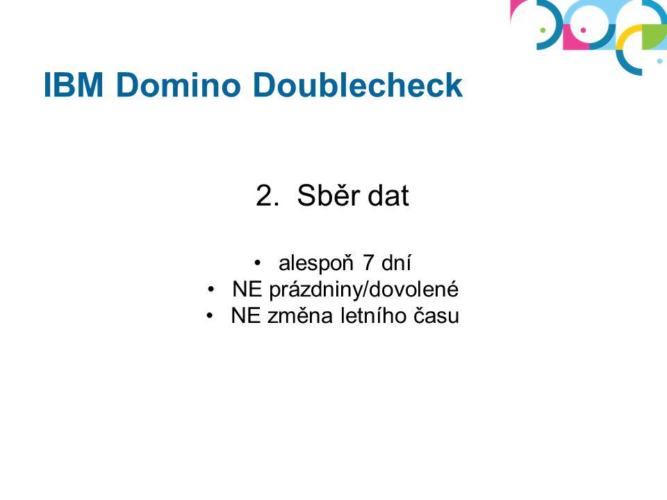 IBM Domino Doublecheck 3.Odeslání dat aplikace (nsf) od Trust Factory - z lokální stanice!!.