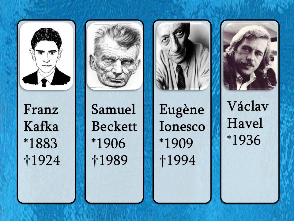 Samuel Beckett (1906 – 1989) irský dramatik za 2.sv.