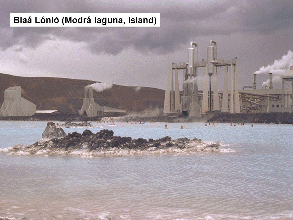 Blaá Lónið (Modrá laguna, Island)