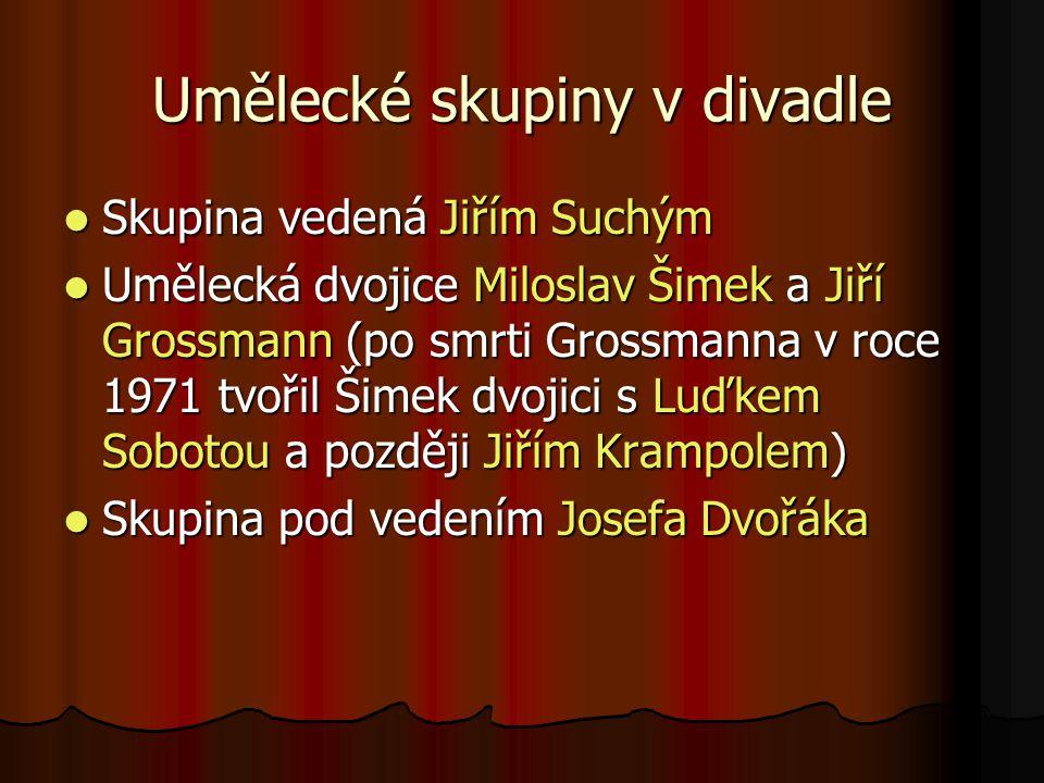 Od roku 1990 je v Semaforu pouze skupina pod vedením Jiřího Suchého.