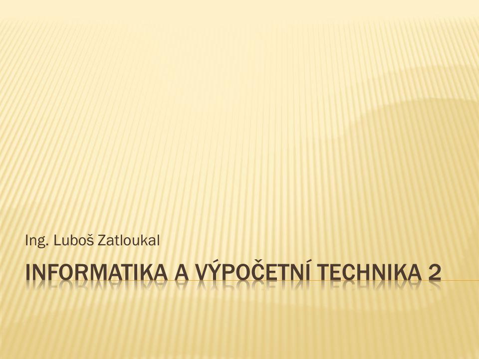 Ing. Luboš Zatloukal