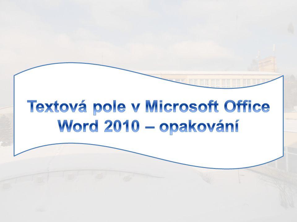 Úkol č.1 1.V MS WORD 2010 si nejdříve otevři nový prázdný dokument.