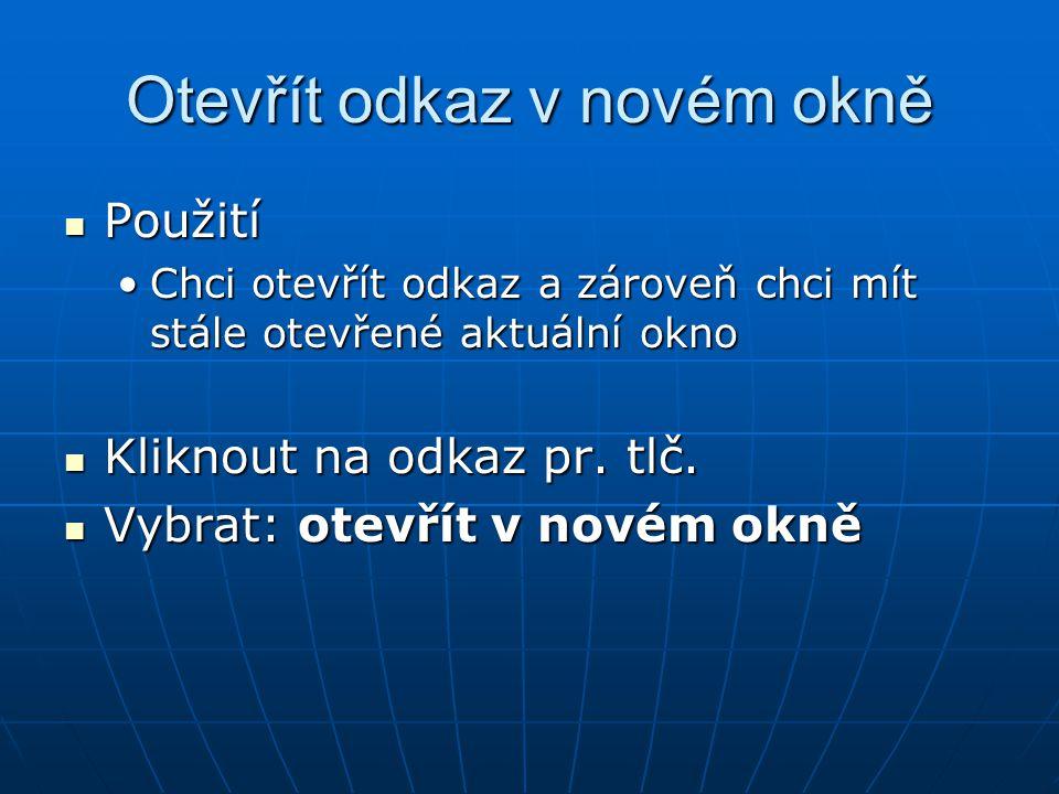 """Stáhnout soubor V prohlížeči: V prohlížeči: Kliknout na odkaz na souborKliknout na odkaz na soubor (bývá označen jako: Download) (bývá označen jako: Download) Zvolit: """"uložit Zvolit: """"uložit Vybrat složkuVybrat složku """"uložit """"uložit Nyní je soubor uložen v počítači (disketě…) Nyní je soubor uložen v počítači (disketě…)"""