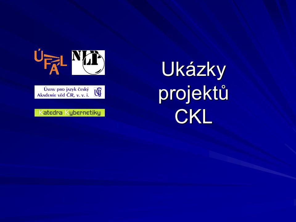 Ukázky projektů CKL
