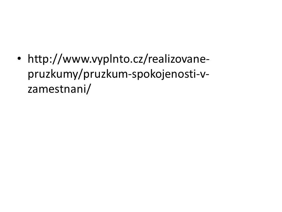 http://www.vyplnto.cz/realizovane- pruzkumy/pruzkum-spokojenosti-v- zamestnani/