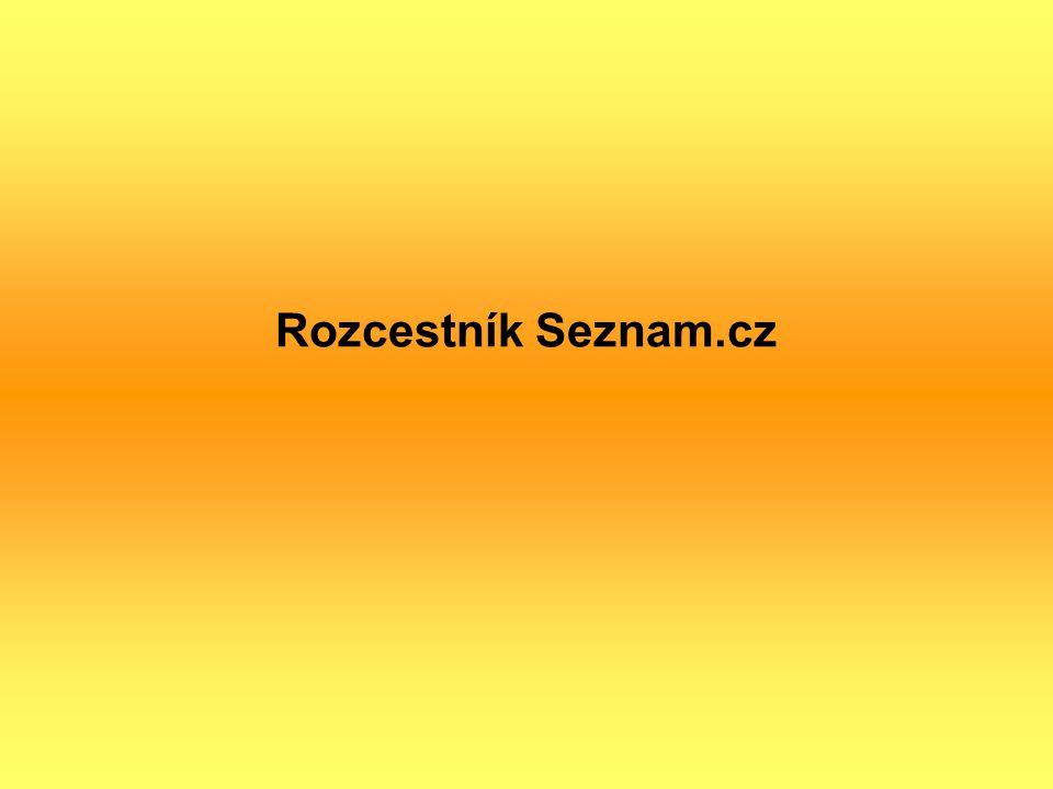 Rozcestník Seznam.cz